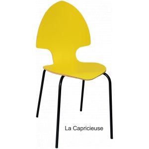 chaise capricieuse design designer tsé tsé piko Edition éditeur mobilier responsable Eco conception valeurs artisan artisanal fabriqué en france made in nouvelle aquitaine