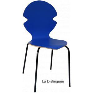 chaise distinguée bleu foncé arrondie amusante décoration made in france fabriqué en france nouvelle aquitaine écologique éco responsable as Wood green artisan artisanat