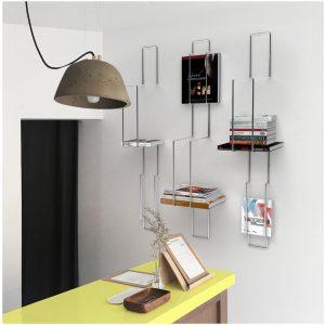 grid thibault pougeoise made in france fabriqué en france bibliothèque module étagère design designer simplicité