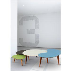 tables basses PI1950 Fred Hernandez fabriquée en france made in france nouvelle aquitaine couleur coloris hêtre français artisanat artisan