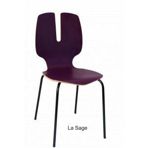 chaise design designer tsé tsé PIKO Edition made in France fabriquée en france nouvelle aquitaine amusante couleur violette bois hêtre